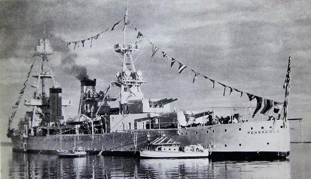 USS Pensacola 9793