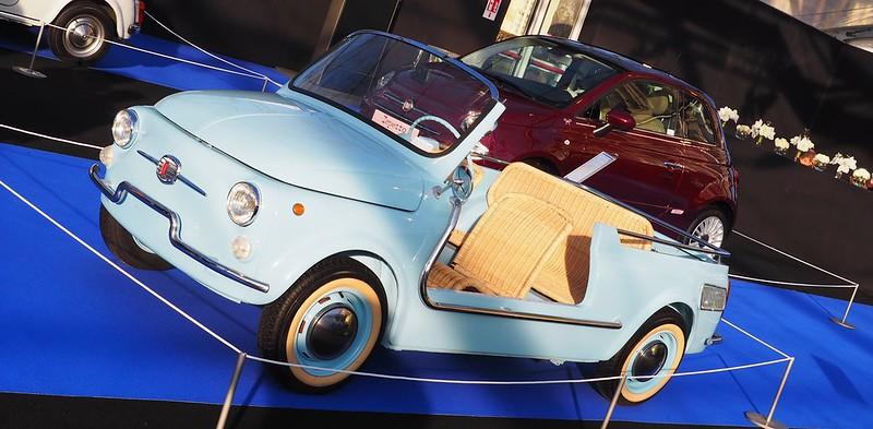"""FIAT 500 Giardiniera Jolly """"Spiaggina"""" 1958/1965 Carrozzeria Ghia 32032209147_449af64f0f_c"""