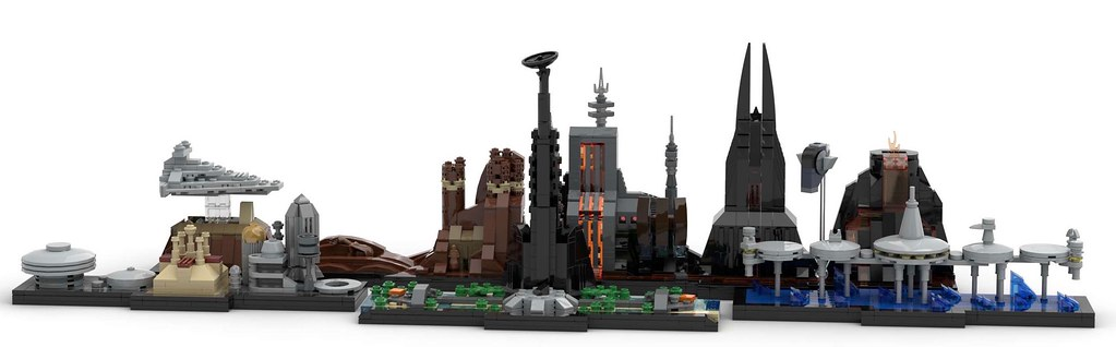 Star Wars Lego Skylines