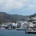 Trajekt Hellenic Seaways připlouvá na Amorgos, foto: Petr Nejedlý