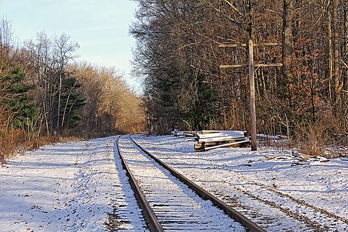 winter winterphotography winterrailroadphotography winterontherailroad winterandrailroads snow tracks railroadtracks railroadtracksinsnow erierailroad kentohio