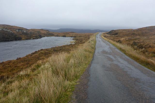 The B869 near Nedd
