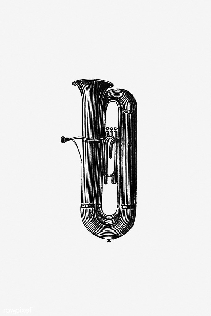 Vintage trumpet illustration | Free download under CC Attrib