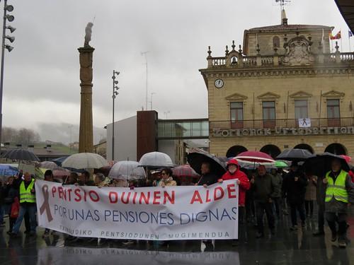 Foto de archivo: Manifestación pensionistas