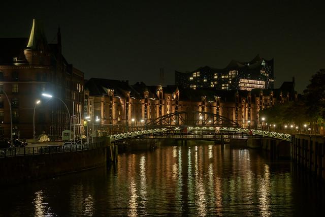 Zollkanal with Elbphilharmonie - Hamburg