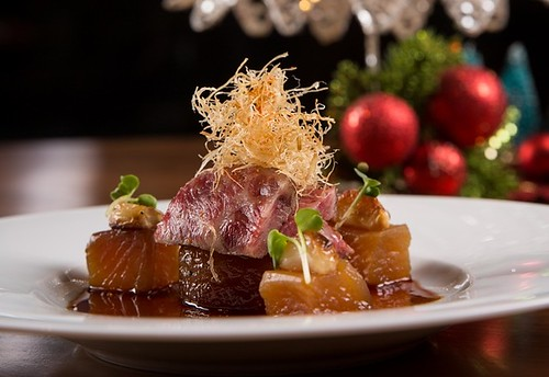 15.Nobu Manila.Seared Wagyu Beef with Braised Daikon and Garlic2 (2) | by OURAWESOMEPLANET: PHILS #1 FOOD AND TRAVEL BLOG
