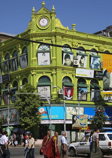 Old Colonial Dictrict, Rangoon, Myanmar