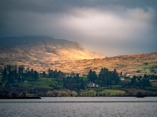 photo landscape sunset ireland nature outdoor lake clouds countryside travel cloud photography hills sky light donegal europe geotagged mountain countydonegal ie onsale