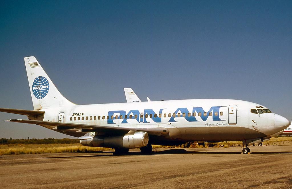 N68AF. Boeing 737-222 Pan Am