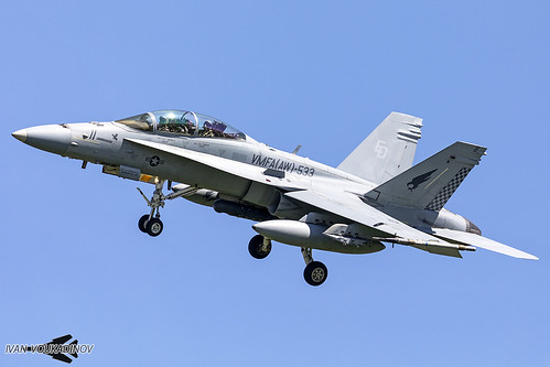 F/A-18D 164683 ED-11 VMFA(AW)-533   by Ivan Voukadinov