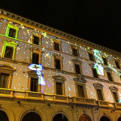 Louis Vitton video mapping Firenze
