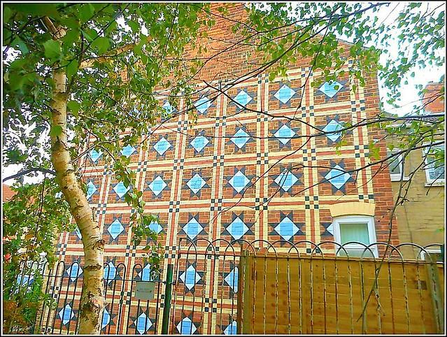 Hand - Painted  Brickwork ...