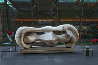 Aria Fine Art Collection: Reclining Connected Forms by Henry Moore | by @CarShowShooter