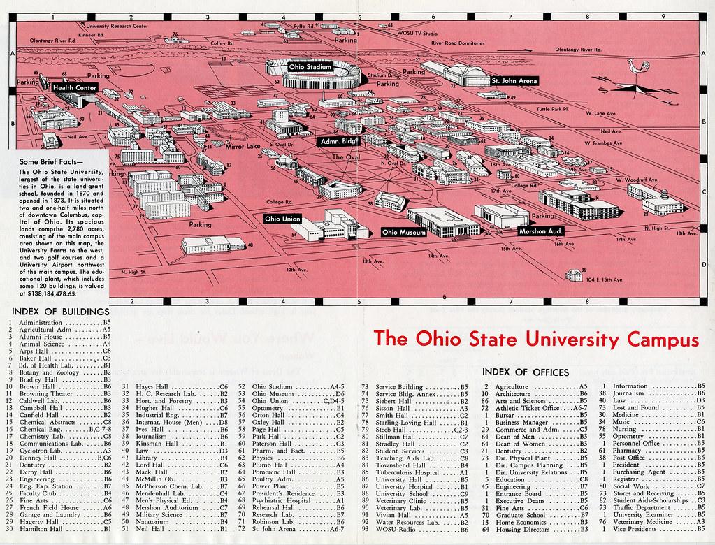 Campus Map Osu on