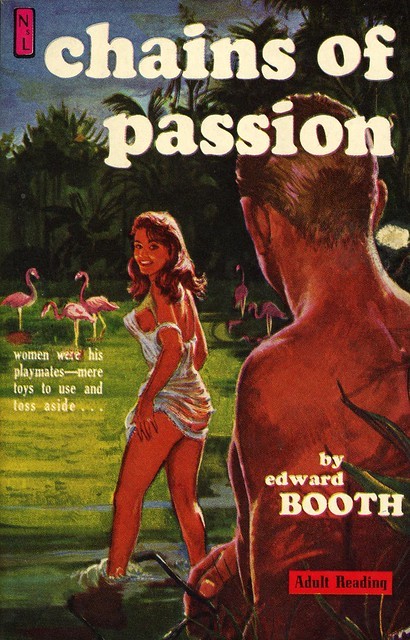 Newsstand Library U150 - Edward Booth - Chains of Passion
