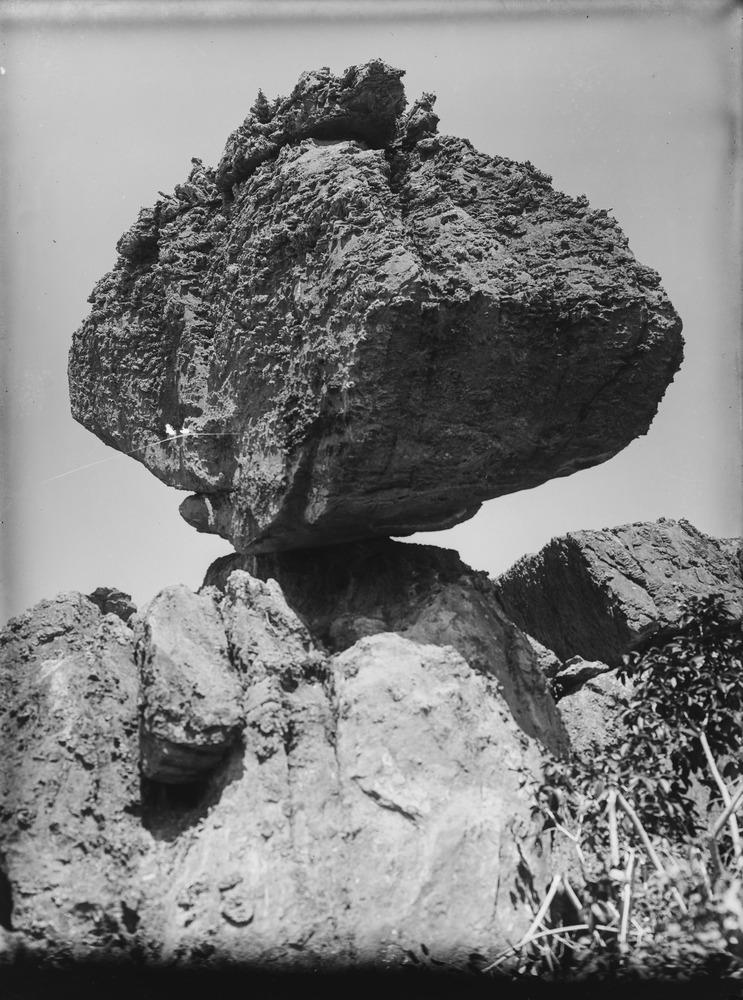 Balancing rock, location unknown
