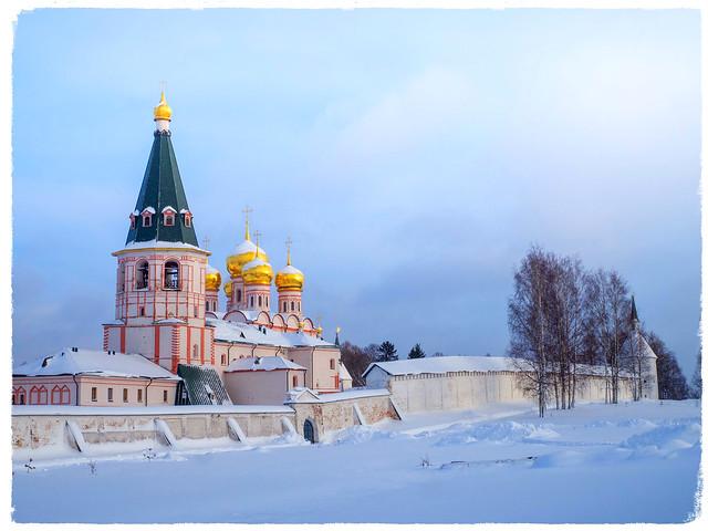 Валдайский Иверский Богородицкий Святоозерский мужской монастырь // Valday Iversky Monastery