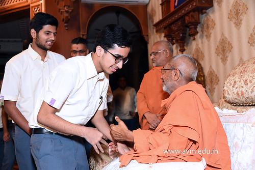Std-10-11-12-visit-to-Haridham-for-Swamishree's-Blessings-(55) | by Atmiya Vidya Mandir