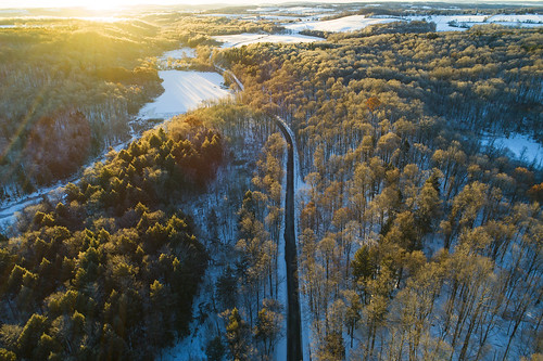 winter cold frozen zero belowzero chilly aerial snow snowing flx skaneatelesconservationarea beautiful morning sunrise dawn drone drones dji phantom4 flight flying