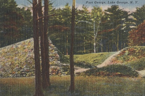 Fort George - Lake George, New York | by The Cardboard America Archives