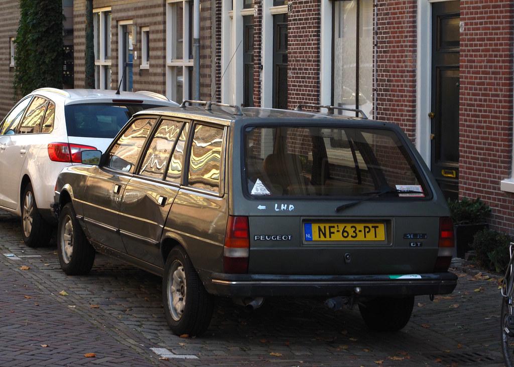 1985 Peugeot 305 Break Gt 1 6 Place Leiden Origineel Nede Flickr