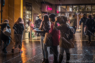 City Centre Snow Showers December 2018   by Splendid What