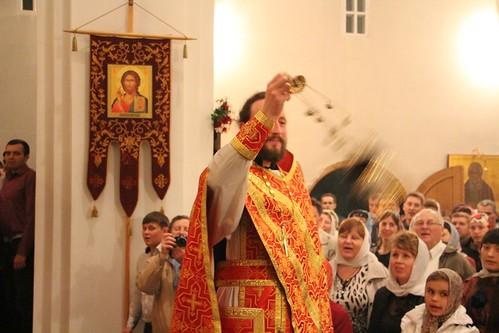 Пасхальное Богослужение в Свято-Никольском храме станицы Кавказской IMG_1380