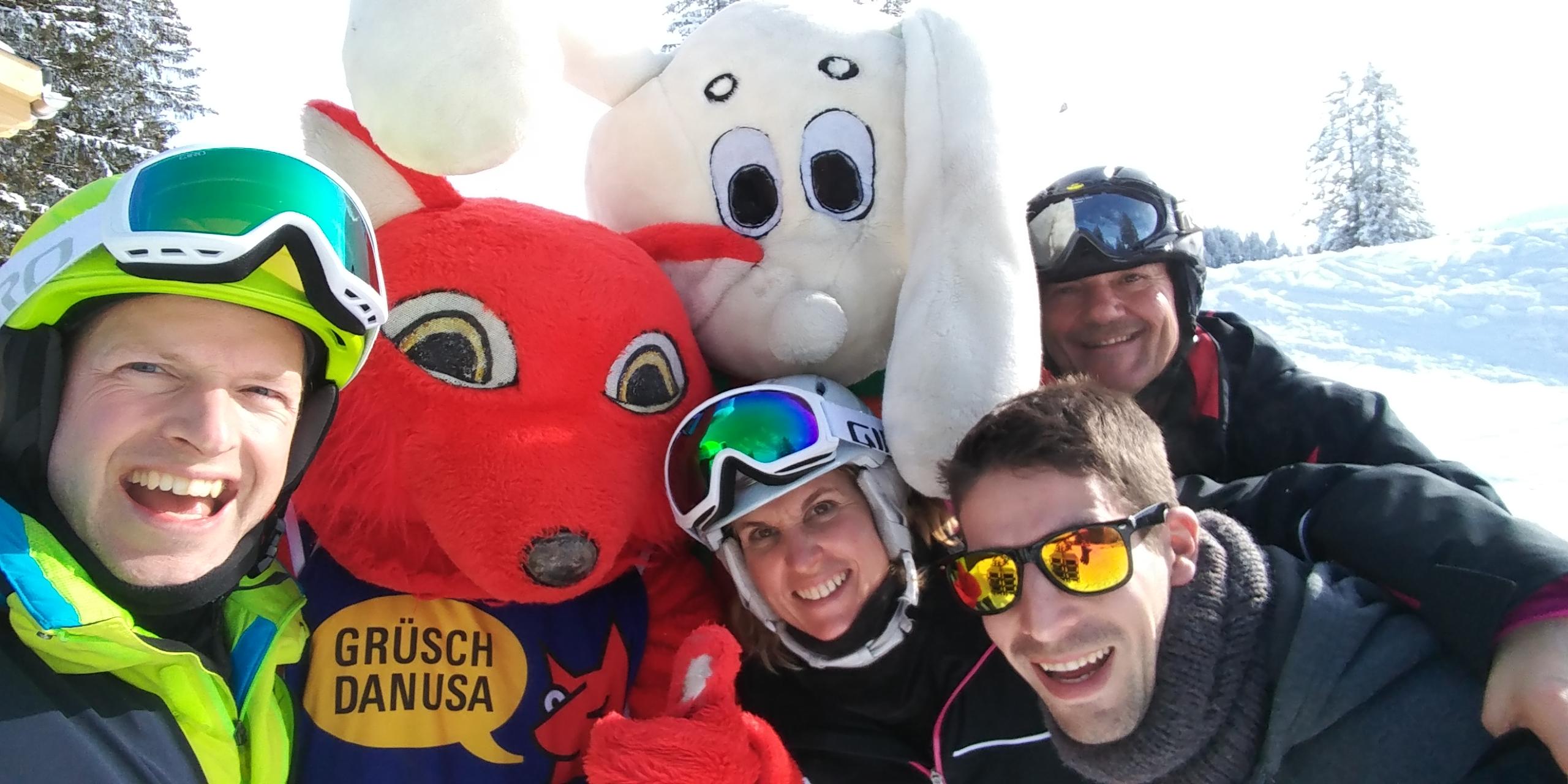 Skiweekend Grüsch