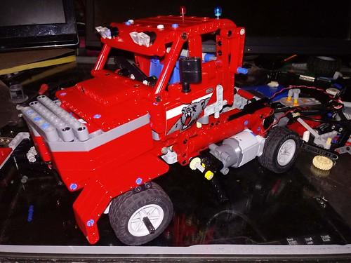 Lego Technic sirslayer big  rig | by victormendozajr