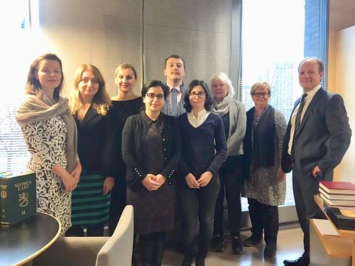 სახალხო დამცველის წარმომადგენლების სასწავლო ვიზიტი ფინეთში 5.11.18.-8.11.18 Public Defender's Office Shares Finland's Experience in Protecting Migrants and Asylum-Seekers and Human Rights Education