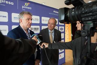 Trobada de la micro, petita i mitjana empresa de Lleida. Realitzada el 8 de novembre al Palau de Congressos - La Llotja de Lleida