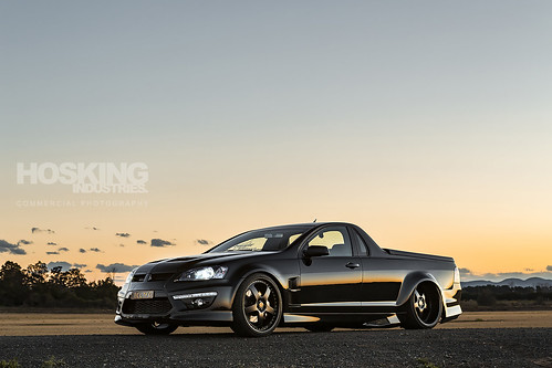 Luke Bailey's Wide Body Holden VE Commodore Ute | by HoskingIndustries