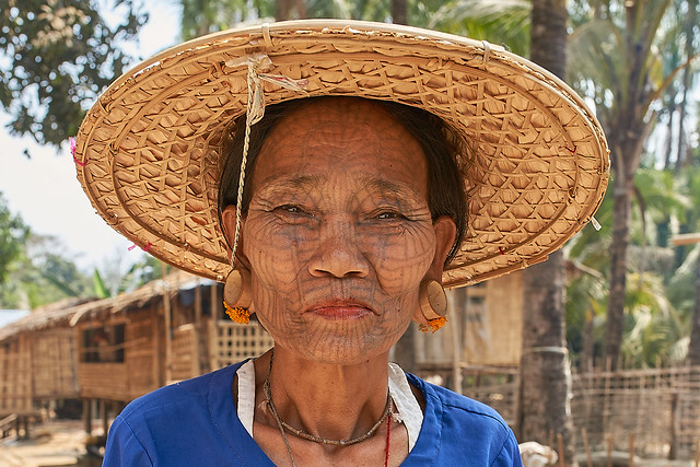 Dai Tribe, Chin Ladies 17