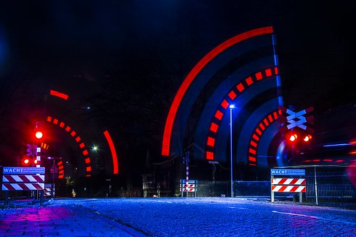 Spoorwegovergang Dorst / Railway Crossing Dorst, The Netherlands | by EtienneMuis