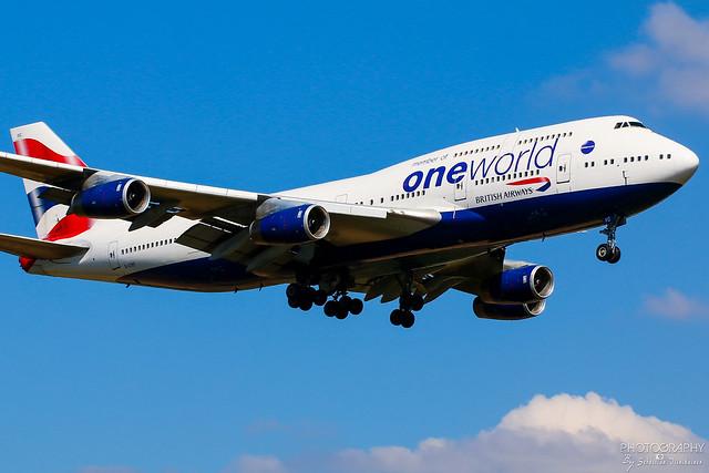G-CIVC British Airways B747-400, EGLL, United Kingdom