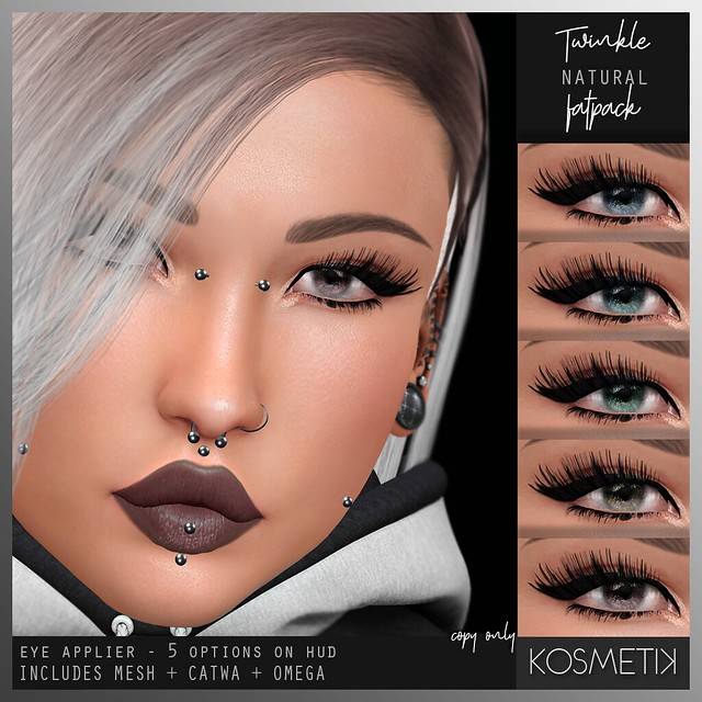 .kosmetik Eye Applier Twinkle - Natural