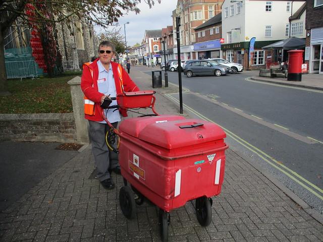 'Ringo' The Postman