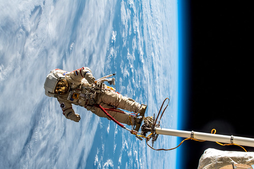 Russian spacewalk | by Astro_Alex