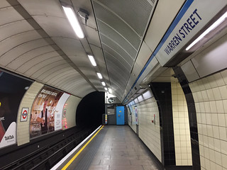 Warren Street, Victoria line | by diamond geezer