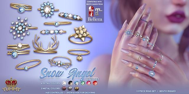 (Yummy) Snow Angel Ring Set