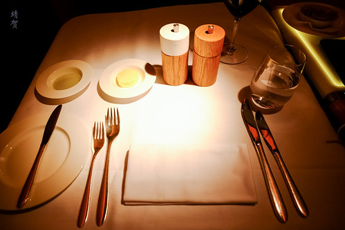 Table setup for meal service | by A. Wee
