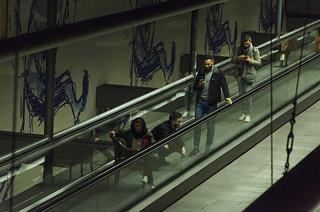 Escalator Traffic