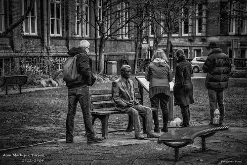 "Alan Turing "" Victim of Prejudice "" a Flicker Tribute. 