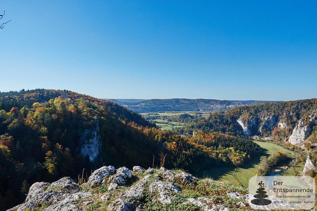 Blick vom Kaiserstand ins Donautal