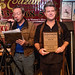 Steve Riley & the Mamou Playboys, Fred's Lounge-KVPI Wall of Fame induction/performance, Nov. 3, 2018