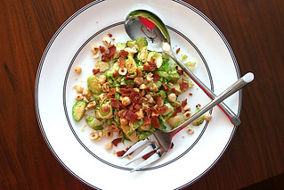 brussels sprouts salad 9 | by crumblycookie