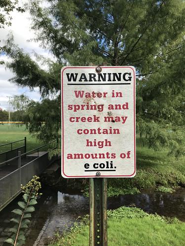 marionville missouri park warning ecoli