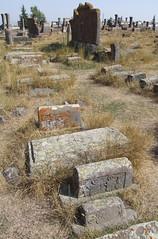 Khachkars at Noratus Cemetery, 03.09.2013.