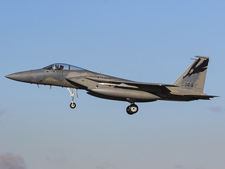 United States Air Force | McDonnell Douglas F-15C Eagle | 86-0144 | by MTV Aviation Photography