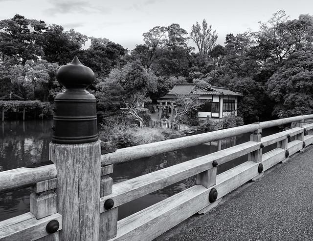 The bridge and the shrine